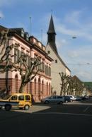 Amtsgericht / Evangelische Kirche
